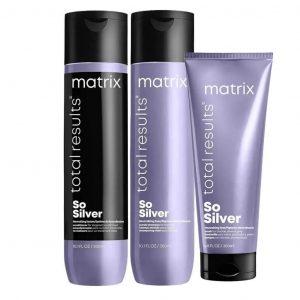 So silver Shampoo y acondicionador