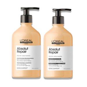 Absolut Repair Shampoo y Acondicionador